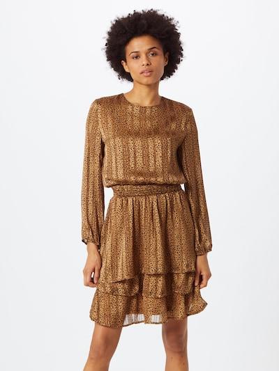 SISTERS POINT Šaty 'NICOLINE' - světle hnědá / černá, Model/ka