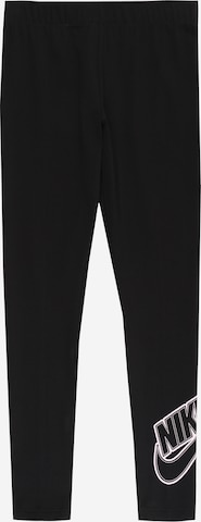 melns Nike Sportswear Legingi