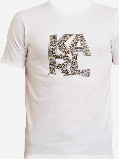 Karl Lagerfeld Shirt in blau / braun, Produktansicht