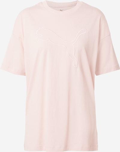PUMA T-shirt fonctionnel 'HER' en rose pastel, Vue avec produit