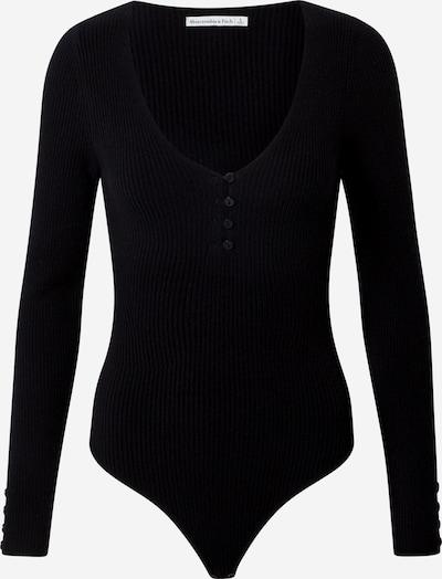 Tricou body Abercrombie & Fitch pe negru, Vizualizare produs