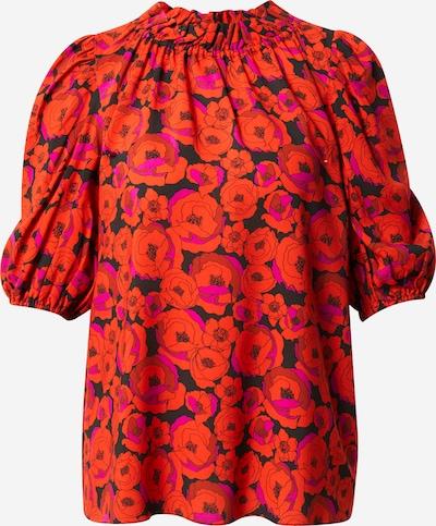 Hofmann Copenhagen Bluse 'Ellie' in lila / orange / schwarz, Produktansicht