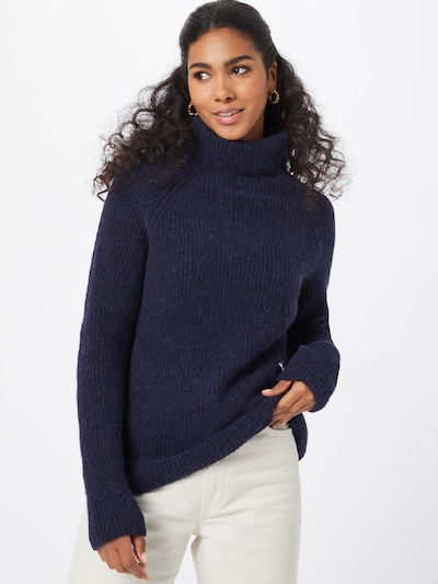 BOSS Sweater 'Faloda' in Navy, View model