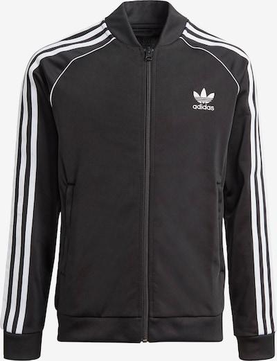 ADIDAS ORIGINALS Jacke in schwarz / weiß, Produktansicht