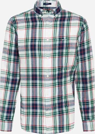 Camicia 'WINDBLOWN' GANT di colore indaco / verde scuro / rosso / bianco, Visualizzazione prodotti