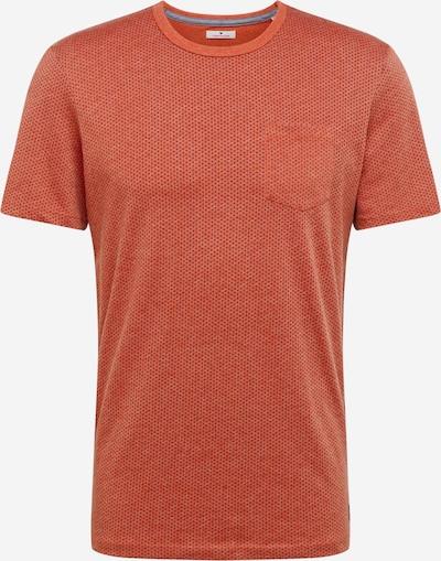 TOM TAILOR T-Shirt in koralle / schwarz, Produktansicht