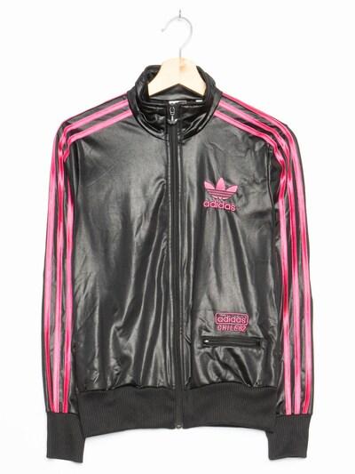ADIDAS Sportjacke in S-M in schwarz, Produktansicht