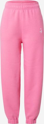 rožinė VIERVIER Kelnės 'Sarah'