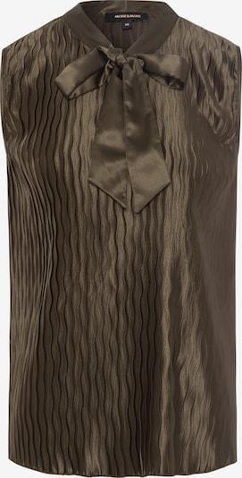 MORE & MORE Bluse in dunkelgrün, Produktansicht