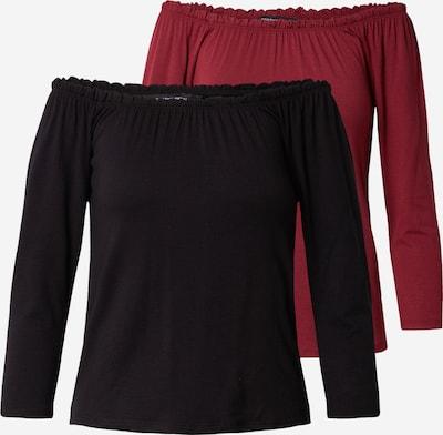 Dorothy Perkins Shirt in rot / schwarz, Produktansicht
