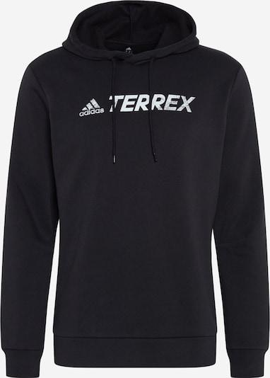 adidas Terrex Sportsweatshirt in schwarz / weiß, Produktansicht