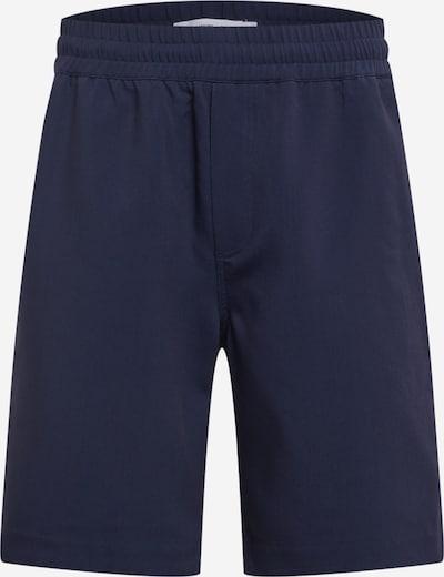 Samsoe Samsoe Pantalon 'Smith' en bleu foncé, Vue avec produit