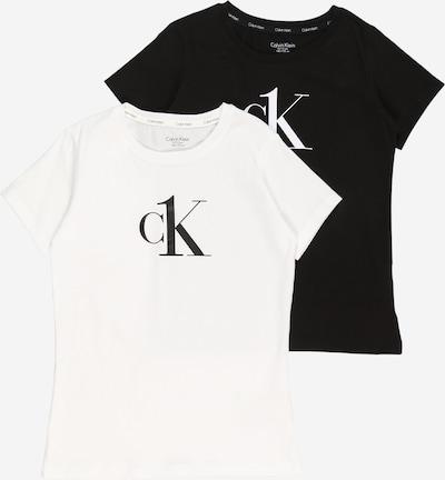 Calvin Klein Underwear Camiseta en negro / blanco, Vista del producto