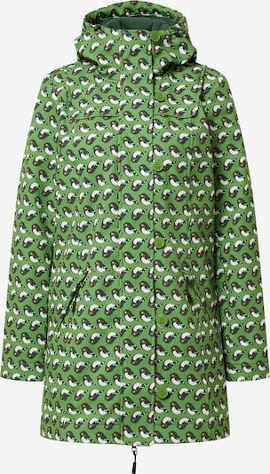 Blutsgeschwister Преходно палто в нощно синьо / тревнозелено / червено / бяло, Преглед на продукта