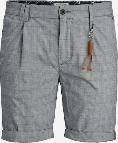 JACK & JONES Shorts in hellgrau / dunkelgrau, Produktansicht