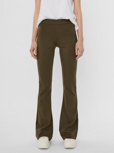 VERO MODA Broek 'Kamma' in de kleur Donkergroen, Modelweergave