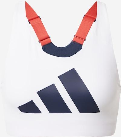 ADIDAS PERFORMANCE Sportovní podprsenka - námořnická modř / bílá, Produkt