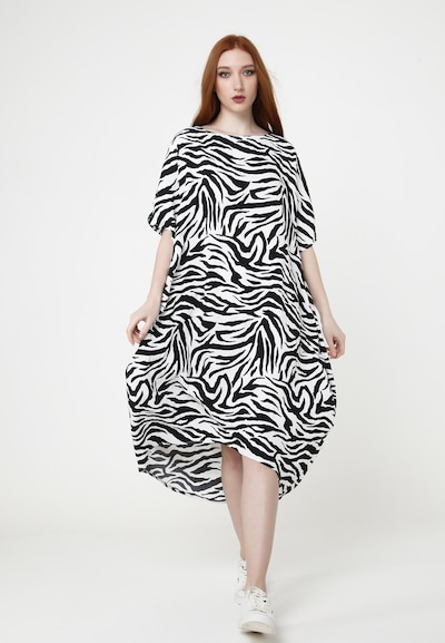 Madam-T Oversized jurk 'ASHLEY' in de kleur Gemengde kleuren, Modelweergave