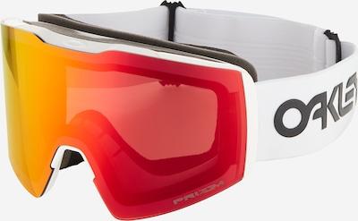 OAKLEY Sportbril in de kleur Rood / Wit, Productweergave