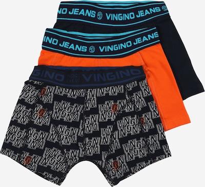 VINGINO Alushousut 'Bingo' värissä tummansininen / oranssi, Tuotenäkymä