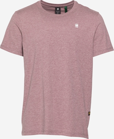 G-Star RAW Shirt 'Base' in pastellrot, Produktansicht