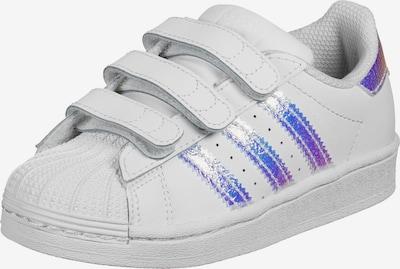 ADIDAS ORIGINALS Brīvā laika apavi 'Superstar' jauktu krāsu / balts, Preces skats