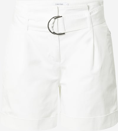 Calvin Klein Laskoshousut värissä valkoinen: Näkymä edestä