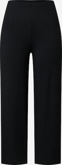 NEW LOOK Pantalon 'Carly Rib Crop' en noir, Vue avec produit