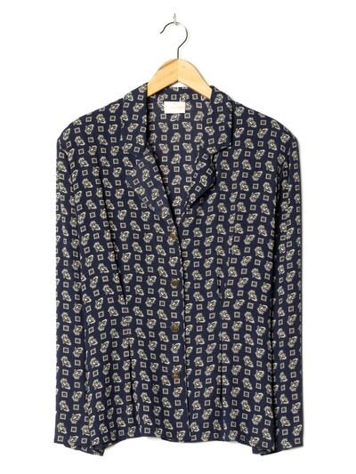 Verse Bluse in XL in dunkelblau, Produktansicht
