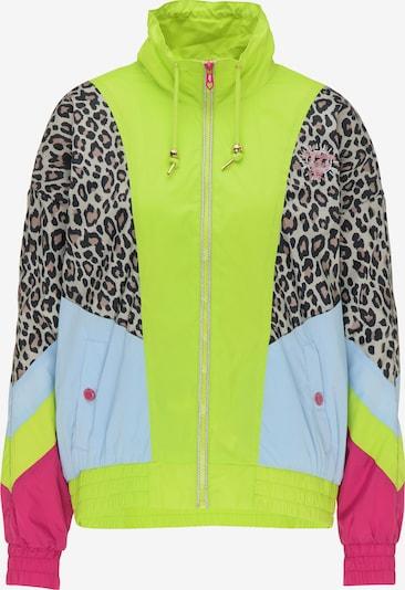 MYMO Přechodná bunda - béžová / světlemodrá / kiwi / pink / černá, Produkt