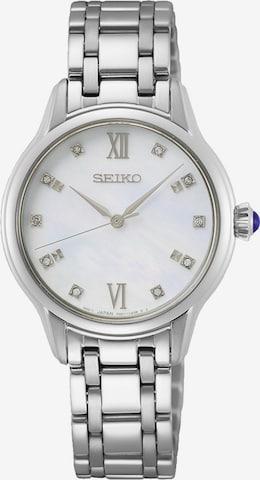 SEIKO Quarzuhr in Silber