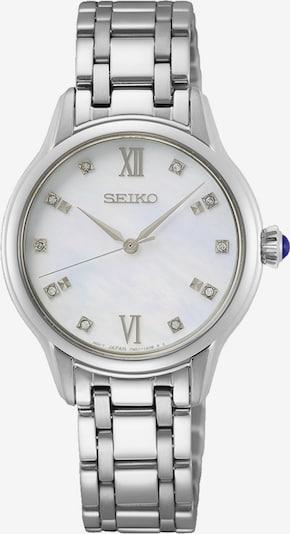 SEIKO Quarzuhr in silber, Produktansicht