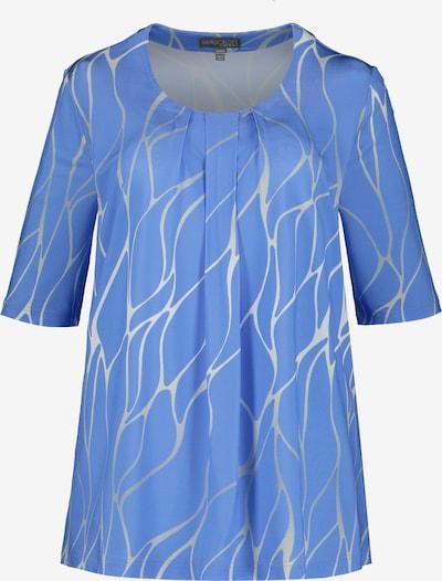 Ulla Popken Shirt in blau / grau, Produktansicht