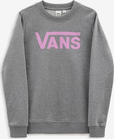 VANS Sweatshirt in graumeliert / lila, Produktansicht