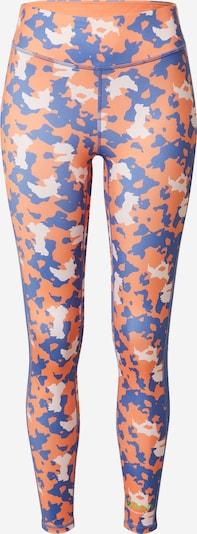 DELICATELOVE Pantalon de sport 'Nadi' en bleu / orange clair / blanc, Vue avec produit