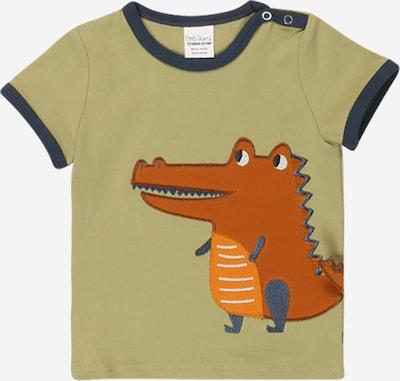 Fred's World by GREEN COTTON Paita 'Hello Crocodile' värissä khaki / sekavärit, Tuotenäkymä