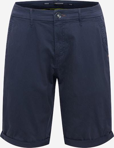 Pantaloni eleganți No Excess pe albastru noapte, Vizualizare produs