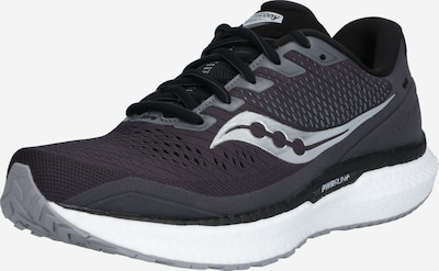 saucony Tenisice za trčanje 'Triumph 18' u crna / srebro / bijela, Pregled proizvoda