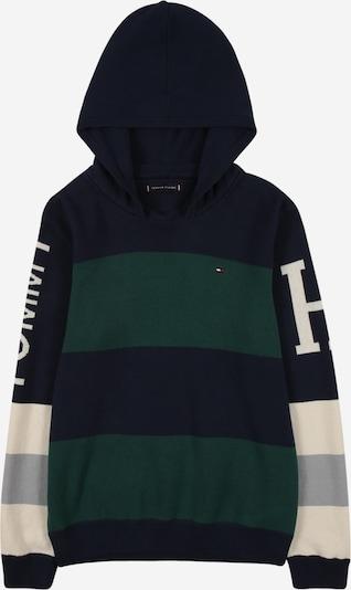TOMMY HILFIGER Sweter w kolorze beżowy / granatowy / szary / ciemnozielonym, Podgląd produktu