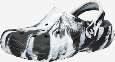 Saboţi Crocs pe negru / alb, Vizualizare produs
