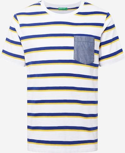UNITED COLORS OF BENETTON T-Shirt in blau / gelb / mischfarben, Produktansicht