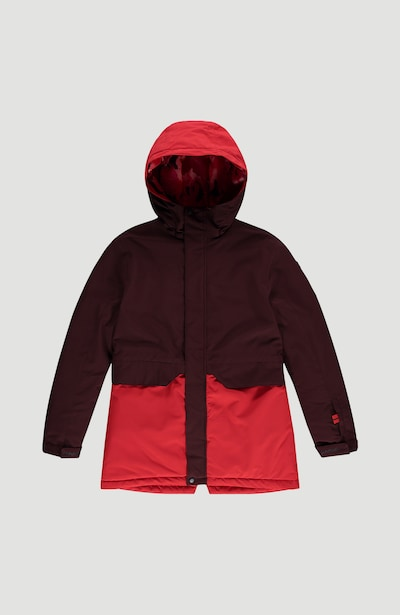 O'NEILL Skijacke 'Zeolite' in rostrot / hellrot, Produktansicht