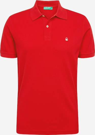 UNITED COLORS OF BENETTON Poloshirt in rot, Produktansicht