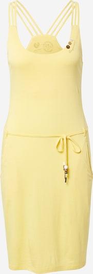Ragwear Kleid 'KALOPE' in hellgelb, Produktansicht