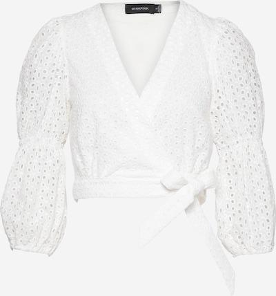 MINKPINK Blouse 'JULIANA' in de kleur Wit, Productweergave