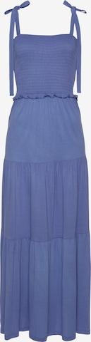 LASCANA Večerné šaty - Modrá