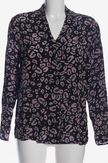 Max Volmáry Hemd-Bluse in L in khaki / lila / schwarz, Produktansicht