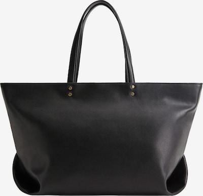 MANGO Shopper 'Eva' in schwarz, Produktansicht