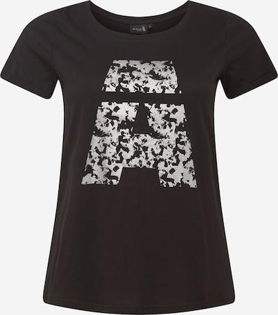 Active by Zizzi Функционална тениска в черно / сребърно, Преглед на продукта