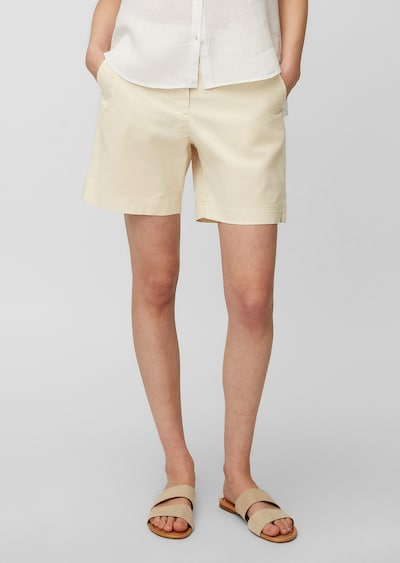 Marc O'Polo Shorts in creme, Modelansicht